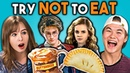 Try Not To Eat Challenge - Harry Potter Food Teens College Kids Vs. Food