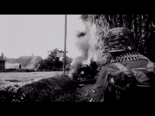 Waffen SS in combat, very intense, very rare