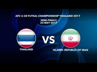 #AFCU20FC THAILAND 2017 - M50 SF1 THAILAND vs ISLAMIC REPUBLIC OF IRAN - Video News