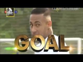 Neymar vs Shinji Okazaki, reto de punteria | Neymar volley challenge