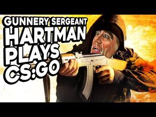 Gunnery Sergeant Hartman Plays Counter-Strike: GO