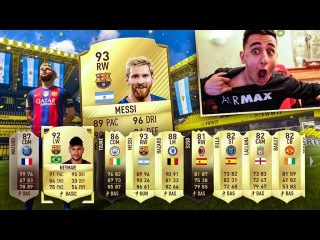 LUCKIEST FIFA 17 PACK OPENING OF THE YEAR!