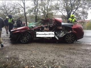 В Краснодарском крае погиб водитель легковушки при столкновении с КамАЗом