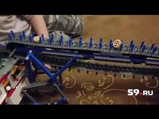 Юный пермяк изобретает роботов