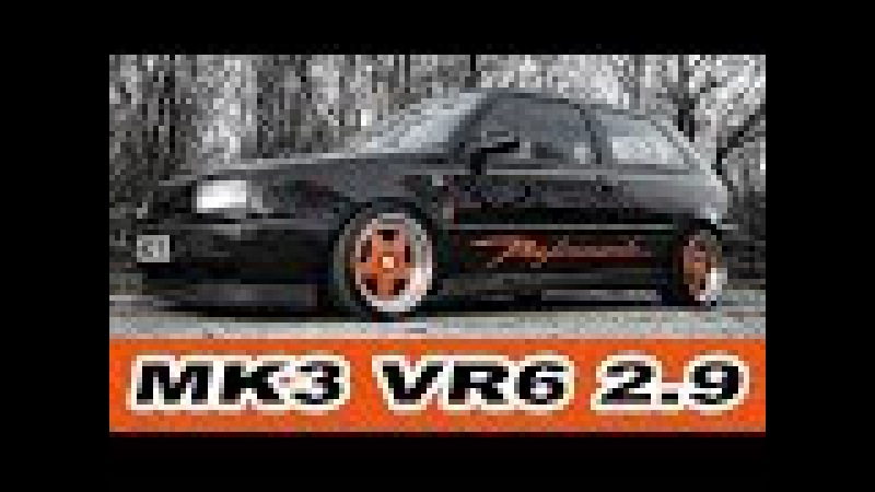 VW Golf VR6 2 9 oversized 220hp 1 2