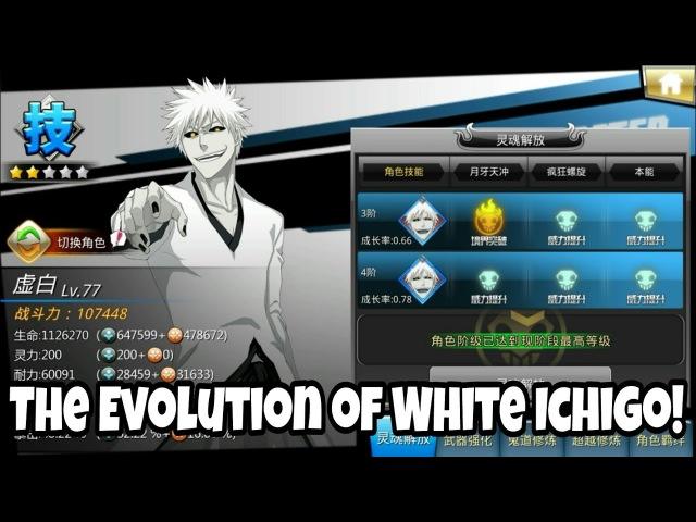 The Evolution of White Ichigo Bleach Death Awakening