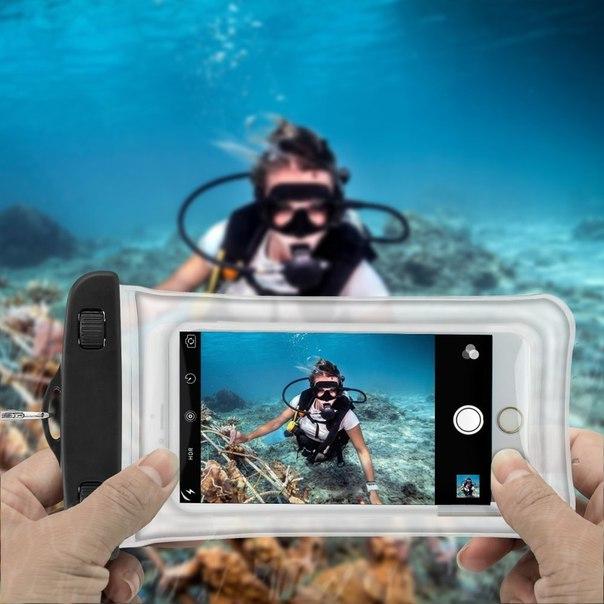 каким телефоном можно фотографировать под водой необычный раньше видел
