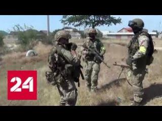 В пригороде Хасавюрта блокированы три дома с боевиками