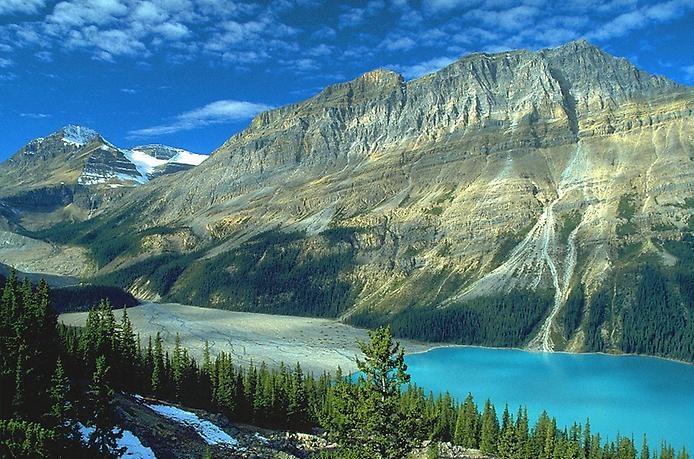 Озеро Пейто в Скалистых горах, изображение №3