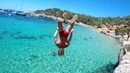 .х|Nick Key|х. Ibiza Cala Salada Beach Double back flip