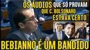 KAJURU CHAMA BEBIANNO DE 'BANDIDO' E DETONA ATITUDE SUJA QUE GRAVOU e PUBLICOU ÁUDIOS COM BOLSONARO