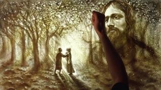 Молитва в Гефсиманском саду. Отец Серафим.