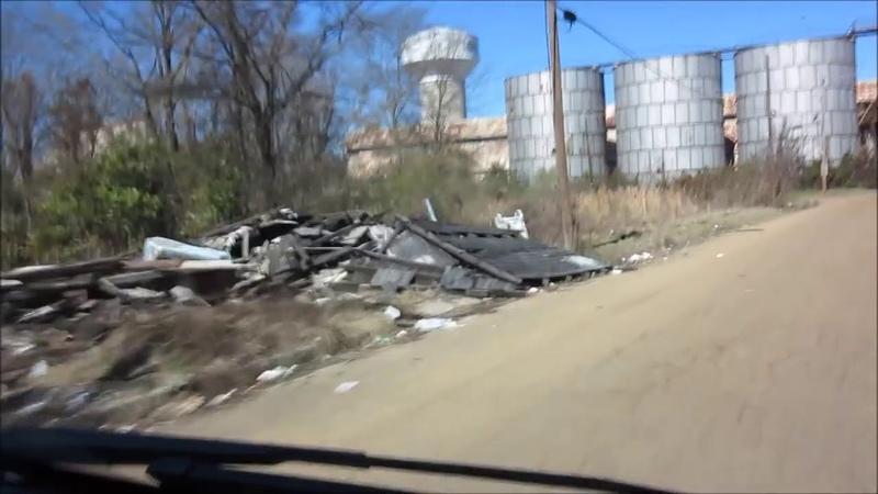 Джексон Миссисипи Американская разруха вместо мечты бедность дороги ямы