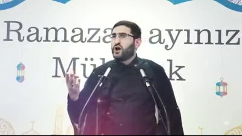 İkinci qədr gecəsi Həzrət Faimeyi Zəhra ə məscidi