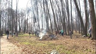 Старинному парку дали второе дыхание. В Ратчино вся школа вышла на субботник