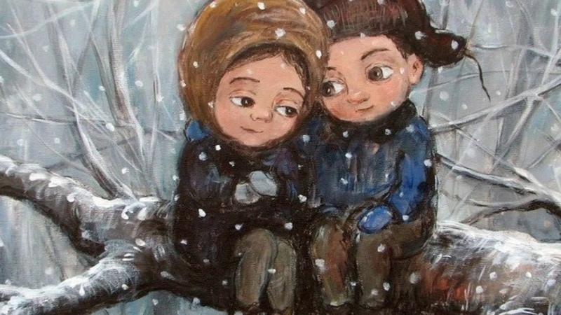 გარეთ თოვდა თოვდა თოვდა garet tovda tovda tovda