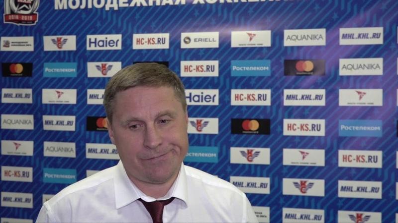 Андрей Скопинцев После 0 3 сложно вернуться в игру