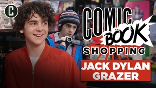 Shazam's Jack Dylan Grazer Goes Comic Book Shopping and Talks Batman, Joker & Umbrella Academy