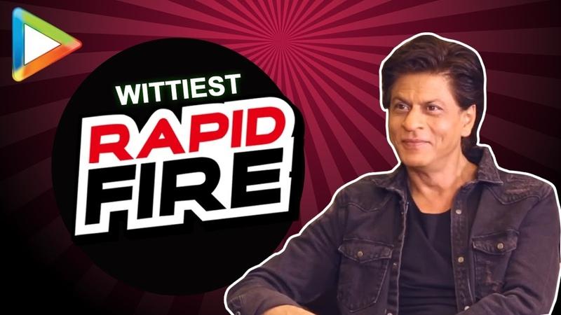 """Shah Rukh Khan Salman Aamir Yaaron ke Yaar"""" RAPID FIRE Zero"""