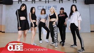 (여자)아이들((G)I-DLE) - 'Uh-Oh' (Choreography Practice Video)