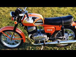 Мотоцикл CZ 350/472.4, 1978 года после полной реставрации