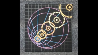Dot painting with Artist Janette Oakman 67 Full Tutorial Geometric Optical Illusion Pointillism