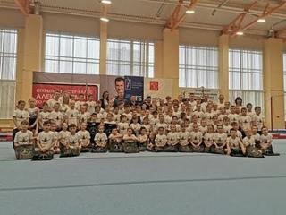 Открытый мастер-класс олимпийского чемпиона по спортивной гимнастике Алексея Немова в Петербурге