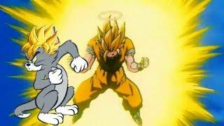 Goku goes ssj3 but with Tom scream