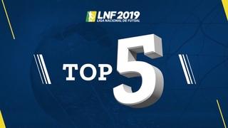 LNF2019 - Top 5 - Gols - 3ª Semana