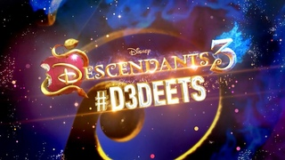 Hades Reveal 🔥 | #D3Deets | Descendants 3