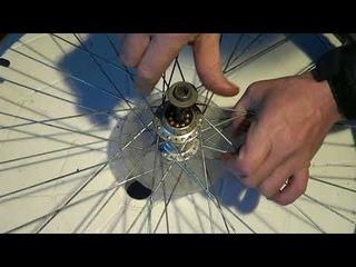 Ремонт велосипеда. Как снять трещотку заднего колеса - кассету звездочек заднего колеса.