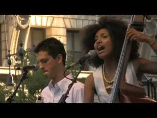 "Esperanza Spalding ""I Adore You"" at J&R's MusicFest 2008"