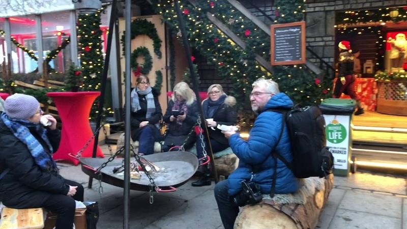 CHRISTMAS MARKET IN OSLO NORWAY Jul I Vinterland Norway