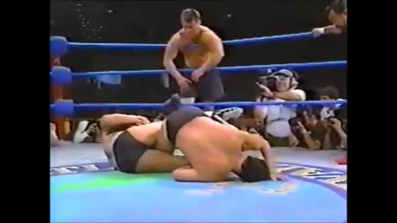 Antonio Inoki Dan Severn vs Yoshiaki Fujiwara Oleg Taktarov Peace Festival June 1st 1996