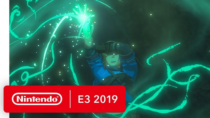 Sequel to The Legend of Zelda Breath of the Wild First Look Trailer Nintendo E3 2019
