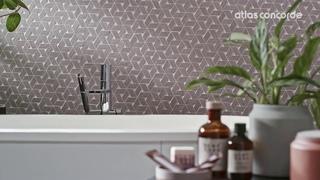 Bathroom Rose   Concrete look   Raw by Atlas Concorde