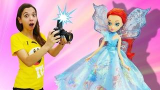 Классные игры в куклы. 15 лет клубу Винкс Winx Club! Новое видео для девочек.