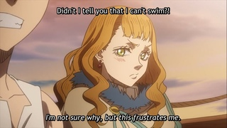 Mimosa Angry over Noelle - Black Clover