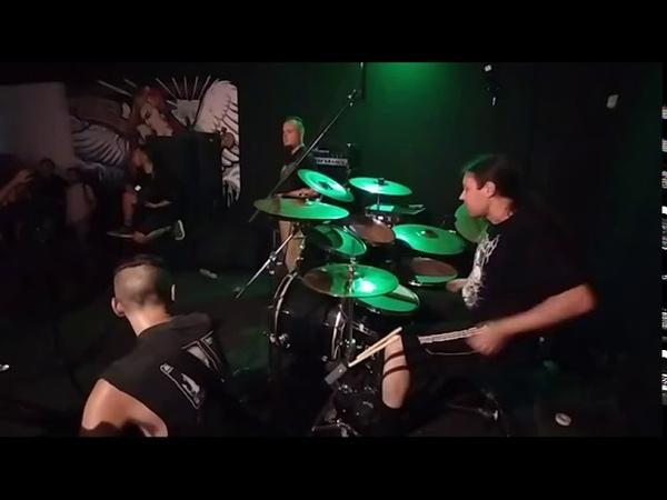 STALINO BIG FAT GIG vol 2 in Underground Stage Donetsk 01 08 2020 Drumcam
