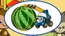ПЕСЕНКИ про машинки и паровозики - Сборник - Паровозик Трейни, Подъемный кран, Детская площадка