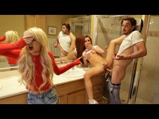 Kenzie Reeves Vanna Bardot - Sharing My Step Sisters Friend - BrattySis [секс, минет, порно]