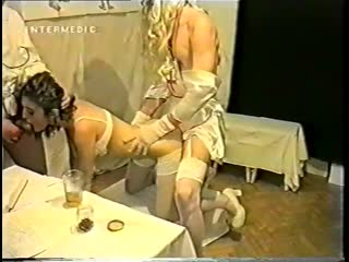 Грязная оргия доктора Ануса в Хабаровске (Intermedic Home Video) [1999 г., All sex, Fetish, Pissing, Fisting, Dildo, Orgy]