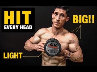 BIG Shoulders   LIGHT Dumbbells (6 Minute Workout!)