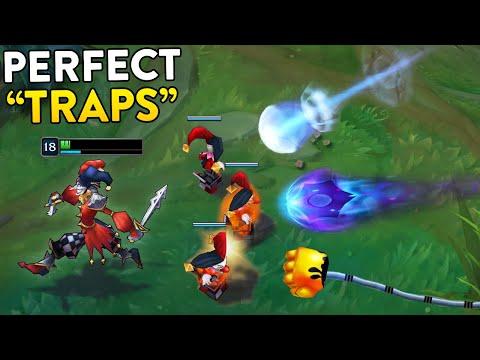 PERFECT TRAPS Skillshot Block 200 IQ Bait