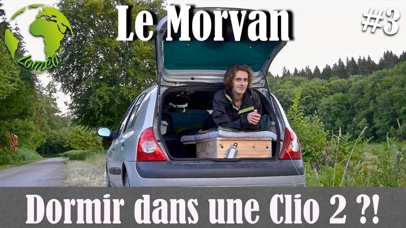 J'ai TRANSFORMÉ ma CLIO 2 en CAMPING CAR Le Morvan 3