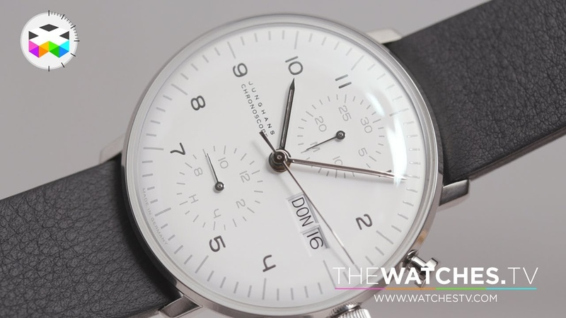 Unboxing the Junghans Max Bill Chronoscope Set 2019