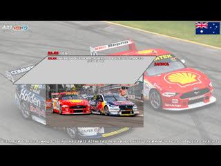 Virgin Australia Supercars Championship: Superloop Adelaide 500, Гонка 1,  [545TV, A21 Network]
