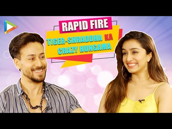 Tiger Shraddha's DHAMAKEDAR Rapid Fire on Disha Patani Deepika Hrithik Jacqueline Baaghi 3