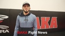 Islam Makhachev Last Day at AKA message to fans and friends before heading to Abu Dhabi UFC 242