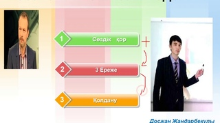 Казахский язык 1 - урок (Казахский язык за 2 недели )